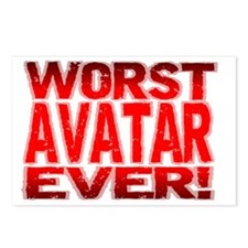 Worst Avatar Ever Postcards (Package of 8)