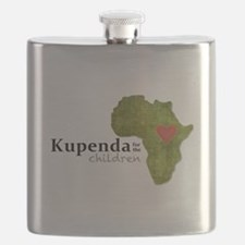 Kupenda For The Children Logo (partially cle Flask