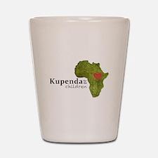 Kupenda For The Children Logo (partiall Shot Glass