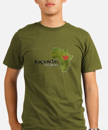 Kupenda For The Child Organic Men's T-Shirt (dark)