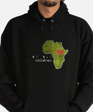 Kupenda For The Children Logo (parti Hoodie (dark)