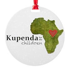 Kupenda For The Children Logo (part Ornament