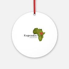 Kupenda For The Children Logo (part Round Ornament