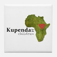 Kupenda For The Children Logo (partia Tile Coaster