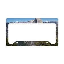 Yosemite Half Dome License Plate Holder