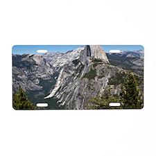 Yosemite Half Dome Aluminum License Plate