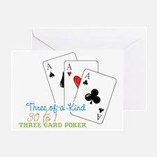 Three of a Kind Greeting Card