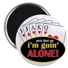 Im Going Alone Magnet