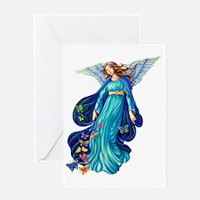Garden Angel B Greeting Card