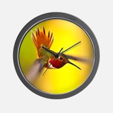 World of Hummingbirds .com - January Wall Clock