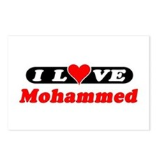 I Love Mohammed Postcards (Package of 8)