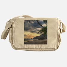 Costa Rica Beach Sunset Messenger Bag