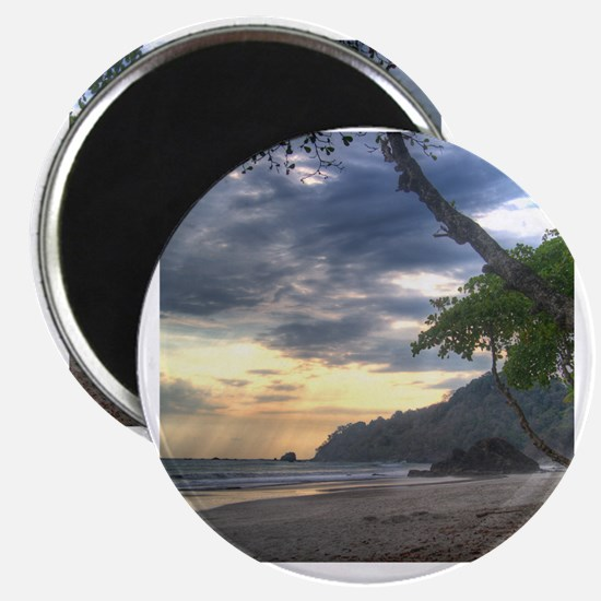 Costa Rica Beach Sunset Magnet