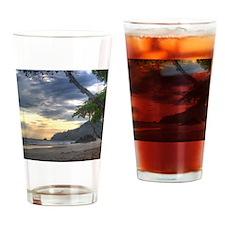 Costa Rica Beach Sunset Drinking Glass