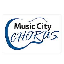 Music City Chorus Logo Postcards (Package of 8)