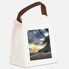 Costa Rica Beach Sunset Canvas Lunch Bag