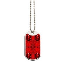Red Jewels Dog Tags