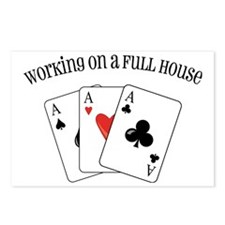 Full House Postcards (Package of 8)