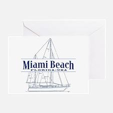 Miami Beach - Greeting Card