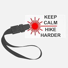Laser Keep Calm Luggage Tag