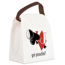 Got Pinochle? Canvas Lunch Bag