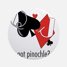 Got Pinochle? Round Ornament