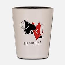 Got Pinochle? Shot Glass