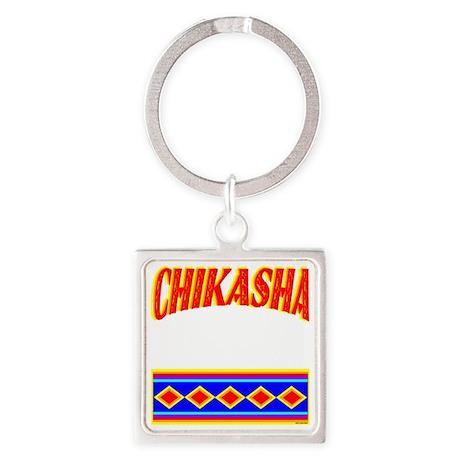 CHIKASHA Square Keychain