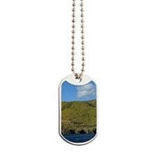 Mountains and Ocean Dog Tags
