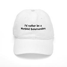 Rather be a Marbled Salamande Baseball Cap