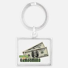 Benjamins Landscape Keychain