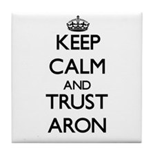 Keep Calm and TRUST Aron Tile Coaster