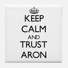 Keep Calm and TRUST Aron Tile Coaster