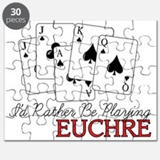 Euchre Playing Puzzle