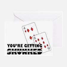 Getting Skunked Greeting Card