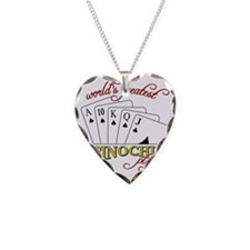 Pinochle Player Necklace