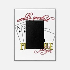 Pinochle Player Picture Frame
