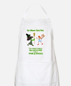 But they are nice shoes... Apron
