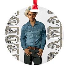 BRONCO BAMA! Ornament
