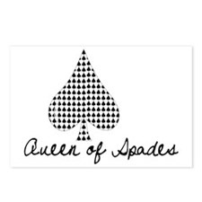 Queen of Spades Postcards (Package of 8)