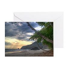 Costa Rica Beach Greeting Card