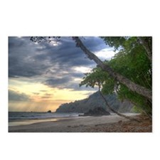Costa Rica Beach Postcards (Package of 8)