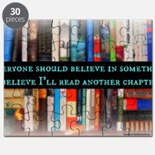 Title Wave Bookshelf Puzzle