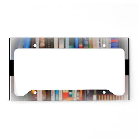 Title Wave Bookshelf License Plate Holder