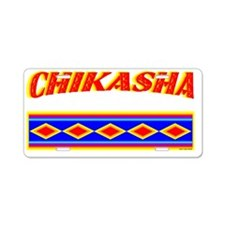 CHIKASHA Aluminum License Plate