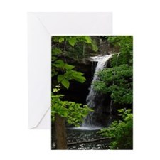 Waterfall Bliss Greeting Card