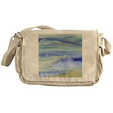 Sea Spray Shower Curtain Messenger Bag