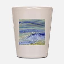 Sea Spray Shower Curtain Shot Glass