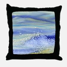 Sea Spray Shower Curtain Throw Pillow