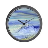 Blue Wall Clocks